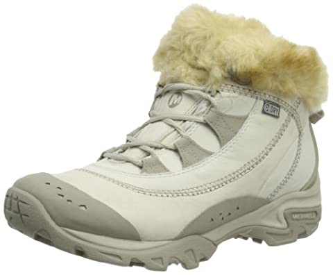 Merrell Snowbound Drift winter shoes Ladies Mid Waterproof grey (Size: 38,5) winter shoes