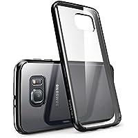 Cover per Samsung Galaxy S6 [ Antigraffio ] / i- Blason **Clear** [ Halo Series ] Custodia Case per Galaxy S6 ibrida della copertura del respingente (Transparente/Nero)