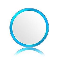 Doutop Home Button Aufkleber für iPhone 7 Plus 6S 6 Plus Touch ID Aufkleber [Glasfolie Partner & Ergänzung] Homebutton Sticker mit Fingerabdruck Indentification Function für iPhone 6 Plus iPad Air 2 iPad Pro Mini 3 4 Weiss + Blau Ring