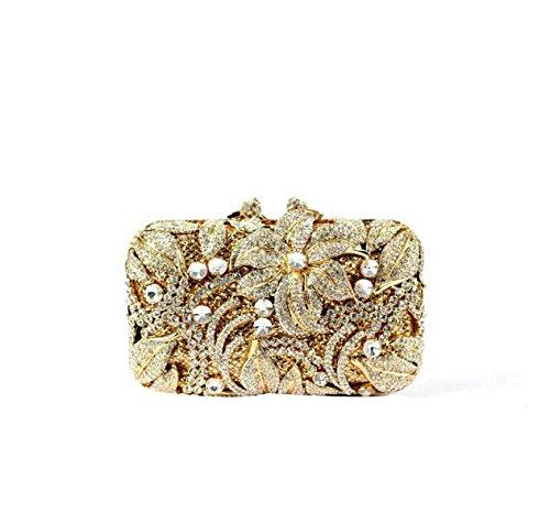 Damen Abendtaschen Kristall Abend Handtaschen Brautkleider D
