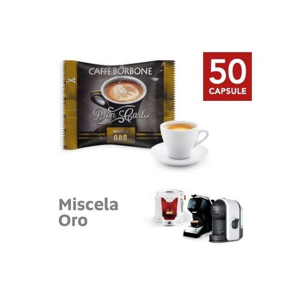 50 Capsule caffè Borbone Don Carlo oro a modo mio 1 spesavip