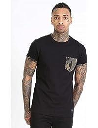 Criminal Damage Army Pocket Black T-Shirt