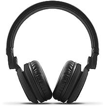 Energy Sistem DJ2 - Auriculares con micrófono integrado en el cable (rotación 180º, Flip-Up, cable extraíble, Control Talk, plegable), color negro