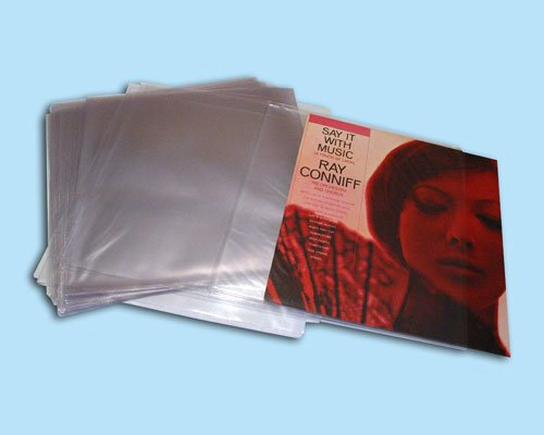 12'' Deluxe PVC Vinyl Record Outer Sleeves (PACK of 30)