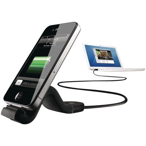 new-philips dlc2407blk/17iPhone/iPod flexadapt Sync/Charge Kabel-phld2407 17 Ipod