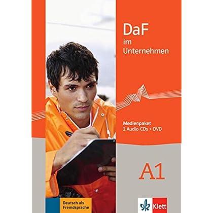 DaF im Unternehmen: Medienpaket A1 - 2 Audio-CDs + 1 DVD
