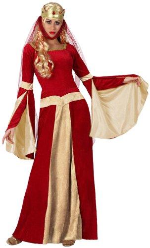 atosa-deguisement-femme-medievale-pour-adultes-rouge