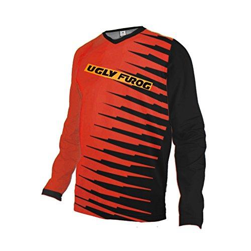 UGLYFROG Designs Bike Wear Bicicleta Hombre Invierno Fleece Termo Downhill Jersey MTB Motos Ciclismo Maillots Triatlón Ropa XHDJDT03