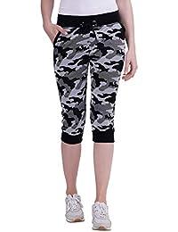 Trinity Jeans Company Women's Cotton Capri - Super Army Style Capri