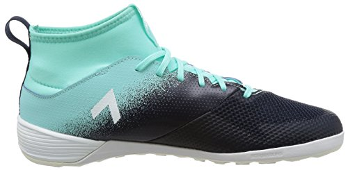 adidas - Ace Tango 17.3 In, Scarpe da calcetto indoor Uomo Multicolore (Energy Aqua /Ftwr White/Legend Ink )
