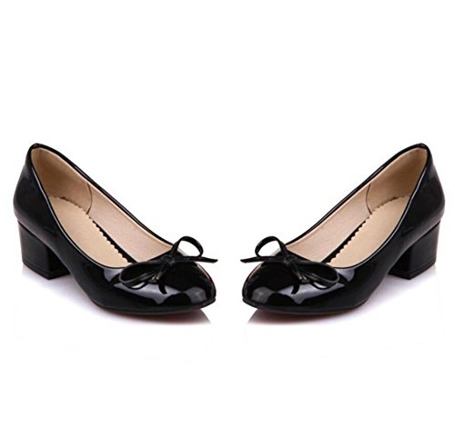 ldmb-ladies-mid-thick-heeled-peinture-cuir-toe-court-chaussures-femmes-enceintes-bride-chaussures-pr
