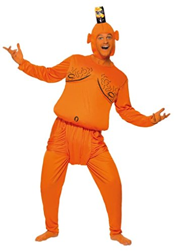 Tango Man Padded Costume with Top, Trousers and Head Piece - 2 Sizes