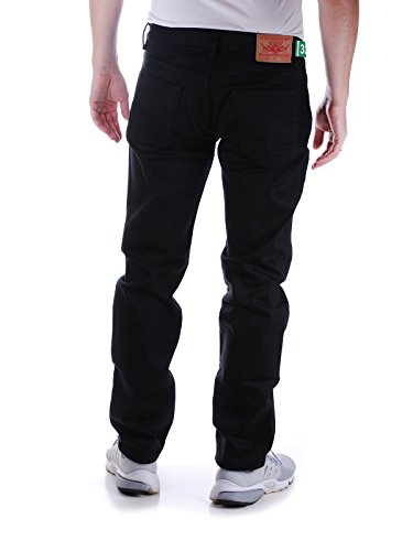 LRG da uomo Research Collection True Taper Fit Jean  Jeans Triple Black