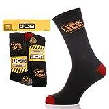 JCB Work Wear Socks - 8 Pair Pack - Size 6-11 UK - 39-46 EU by JCB
