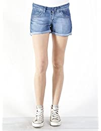 Carrera Jeans - Short 757A0987A pour femme, tissu extensible, taille slim, taille basse