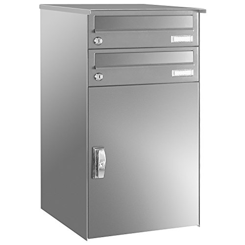 Max Knobloch Paketbox KNOBOX Gr. 6 AP244-VA mit 2 Briefkästen