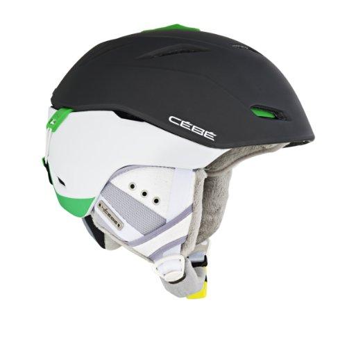 Cébé Skihelm Atmosphere Dlx Roadblock - Casco de esquí, color Negro