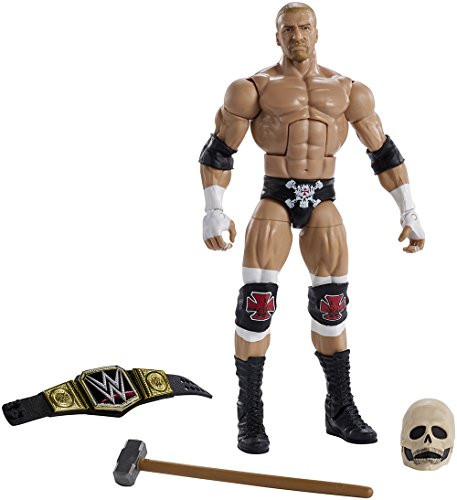 WWE Mattel DXL62 Wrestlemania 33 Triple H Actionfigur