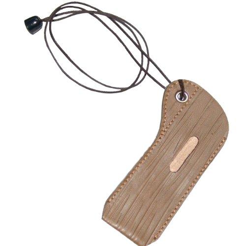 custodia da collo con laccetto in vera PELLE marrone per sigaretta elettronica tipo EGO W phantom CE4 CE5 CE5+ TANK EKLIPS EKLIPS