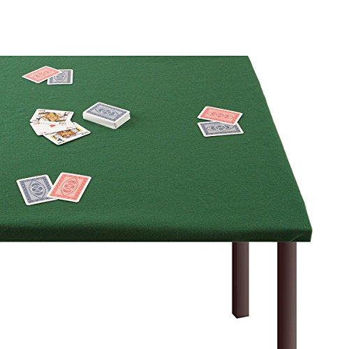 Panno da gioco Copritavolo per Poker Verde dimensioni varie N633 140x180