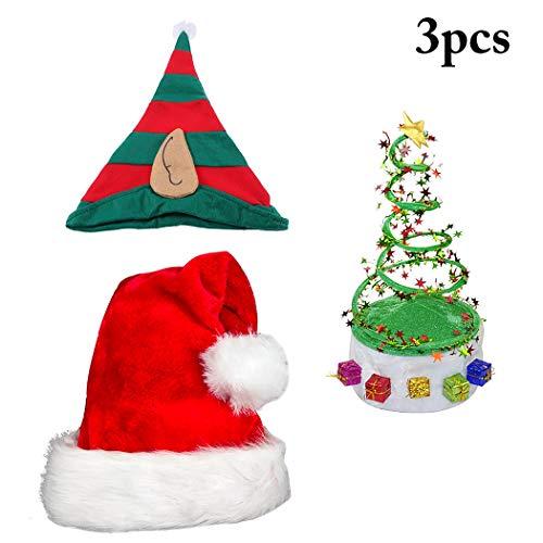 Funpa Weihnachtshut Dekorative Urlaub Hut Party Kostüm Cap Für Weihnachten