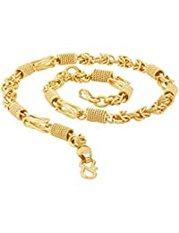 Voylla Gold Plated Chain for Men (8907617434889)