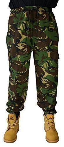 Dallaswear -  Pantaloni  - Uomo Mimetico legno
