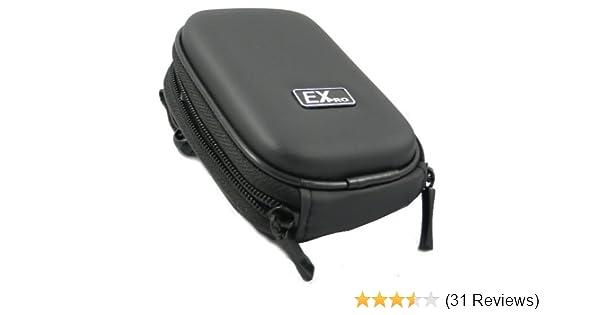 DSC-W5, Ex-Pro® Orange Hard Clam Camera Case Sony Cyber-Shot DSC-W1