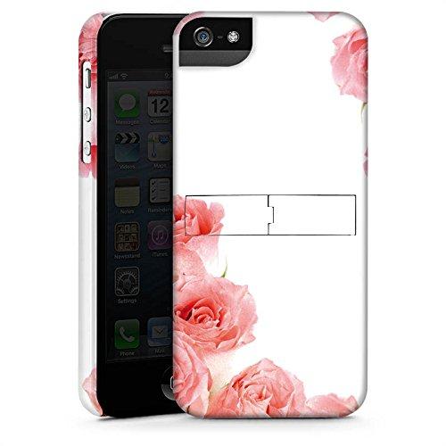 Apple iPhone X Silikon Hülle Case Schutzhülle Rosen Blüten Pink Premium Case StandUp