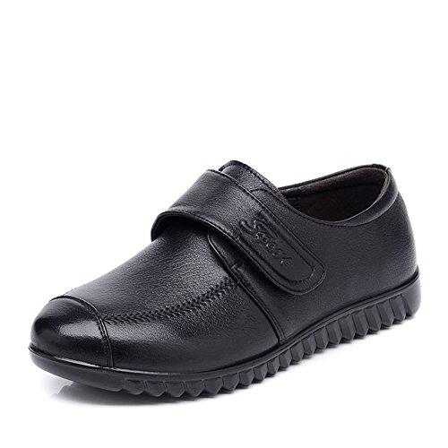 Maman et chaussures de fond mou/escoge los zapatos/Chaussures de femmes d'âge mûr/ old shoe A