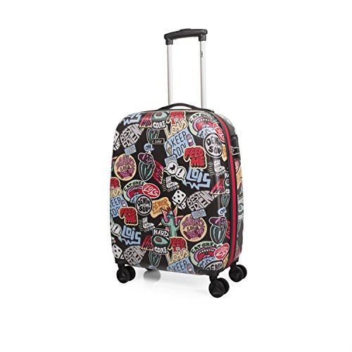 LOIS - 55550 TROLLEY CABINA LOW COST, Color Negro