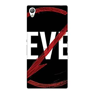 Cute Never Flash Multicolor Back Case Cover for Sony Xperia Z3