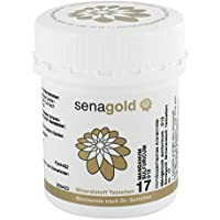 Schüßler Salz Nr.17- Manganum sulf. D12-400 Tabletten, glutenfrei preisvergleich bei billige-tabletten.eu