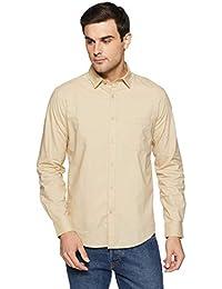 Diverse Men's Solid Regular Fit Casual Shirt