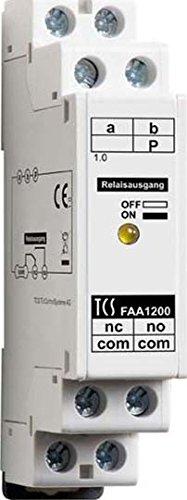 TCS Tür Control Türöffner-Relais FAA1200-0400 f. Hutschiene Zusatzgerät für Tür-/Videosprechanlage 4035138020688