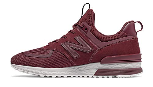 cheap for discount ccf4f 85c72 New Balance 574S Sneaker Uomo, Rosso (NB Burgundy Munsell White Utw) 43