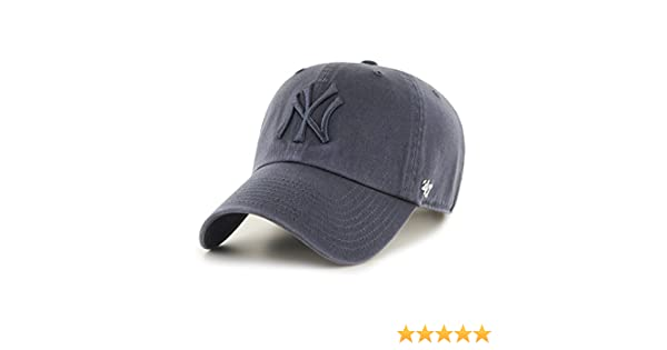 reputable site 884eb f7a0f 47 Brand MLB New York Yankees Clean Up Cap - Vintage Navy  Amazon.co.uk   Clothing