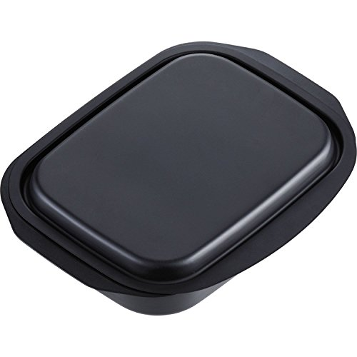 WAHEI FREIZ Lunchini Grill Pan Oven toaster tray 17 x 22cm With lid and recipe (Japan import / The package and the manual are written in Japanese)