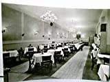 Praha. Hotel Metropol / Zlata husa. AK s/w. Speisesaal Innenansicht. Prahy, Prague, Prag
