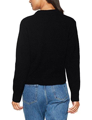 Wood Wood Anneli Sweater, Felpa Donna Nero (Black)