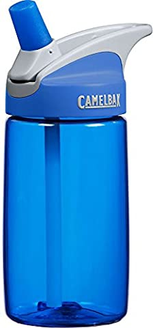 Cbak Eddy Bottle Kids 400ml - Blue/Blue