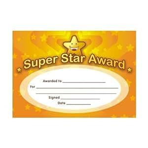Super Star Certificates