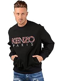 Kenzo Pull - Hommes 5sw089 Dragon Pull Noir 9e7d47b8d65