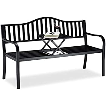 Billyoh Signature 3 Seater Garden Bench With Pop Up Table