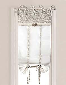 Tenda finestra angelica home country collezione lady for Tende a vetro per cucina classica