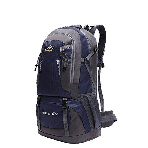 Imagen de  de marcha, senderismo  y bolsas camping viaje trekking  para escalada montaña dark blue 2, 60l  alternativa
