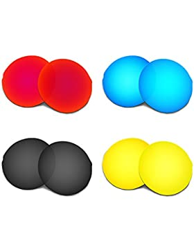 Hkuco Plus Replacement Lenses For Oakley Madman - 4 pair Combo Pack