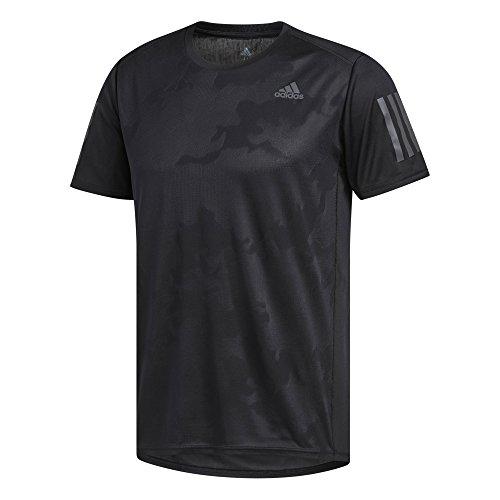 adidas Herren Response Kurzarm T-Shirt, Black, XL