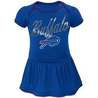 "Buffalo Bills NFL ""Dazzled"" Infant Girls Bodysuit Dress"