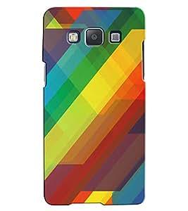 Citydreamz Multicolor Triangles/Stripes/Shapes Hard Polycarbonate Designer Back Case Cover For Samsung Galaxy Grand Neo/Grand Neo Plus I9060